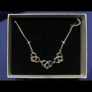 "Jewelry - NWT ""God's Heart"" necklace"